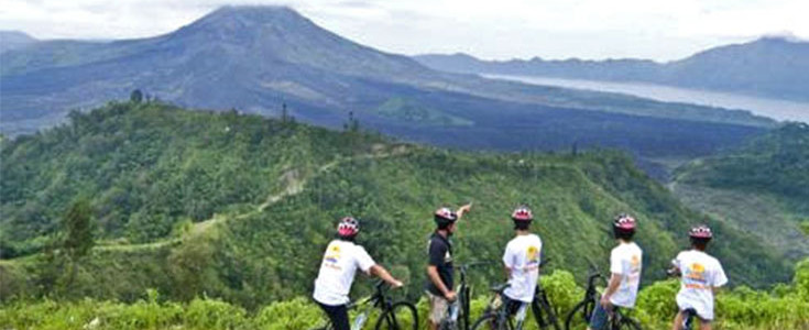 Mountain Cycling Kintamani Adventure Tour