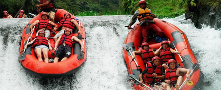 Telaga Waja Water Rafting 1