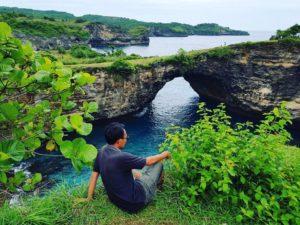 Broken Beach Kadek Bali