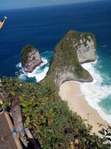 Kelingking Point Kadek Bali
